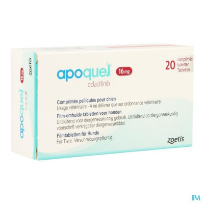 Apoquel 16mg Comp 20
