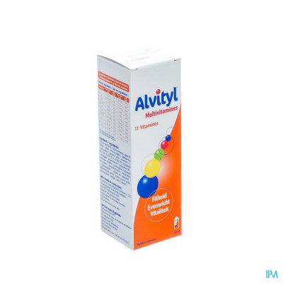 Alvityl Multivitaminen Drinkb.opl Fl 150ml