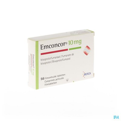 Emconcor 10 Drag 56x10mg