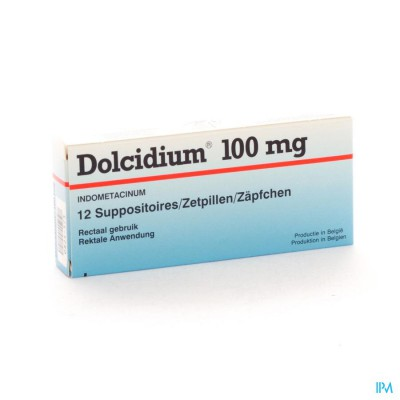 Dolcidium Supp 12 X 100mg