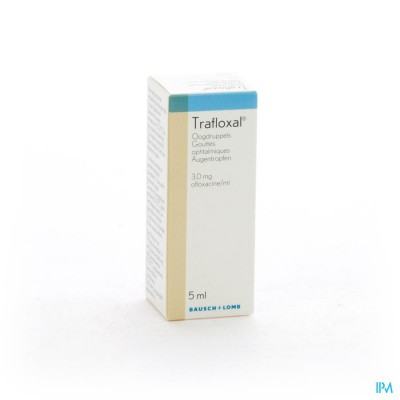 Trafloxal Collyre 5ml 3mg/ml