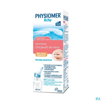 Physiomer Hypert. Baby Spray 60ml