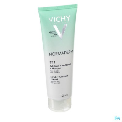 Vichy Normaderm Reiniging 3in1 Gel 125ml