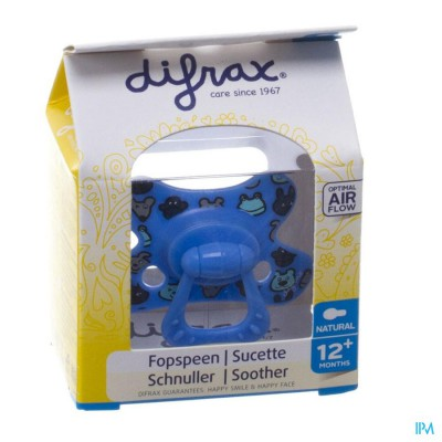 Difrax Fopspeen Natural 12+ M Boy