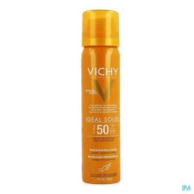 Vichy Ideal Soleil Frisse Gezichtsmist Ip50 75ml