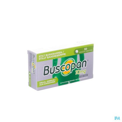 Buscopan Drag 50 X 10mg