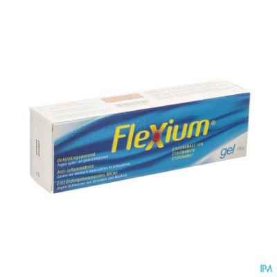 Flexium 10 % Gel Tube 100g Pi Pharma Pip