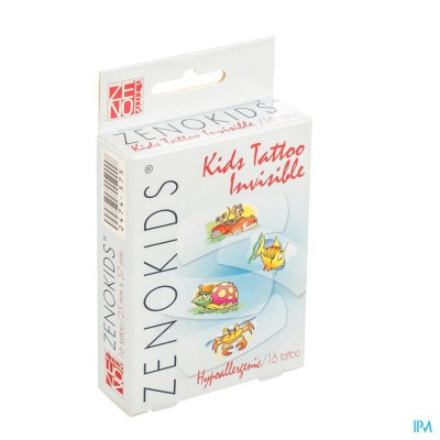 Zenokids Tattoo Invisible Pleister Wtp 16
