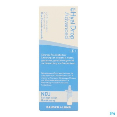 Hyaldrop Advanced Oplossing 10ml