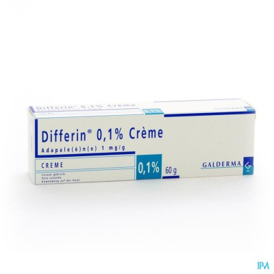 Differin 0,1 % Creme Tube 60g