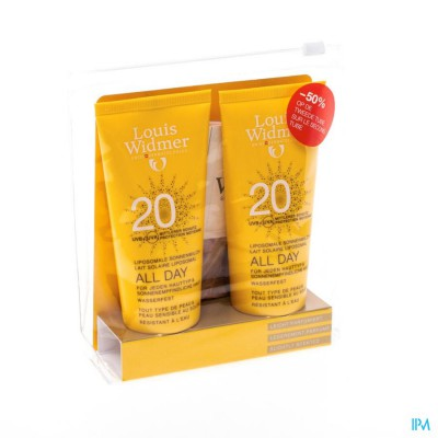 Widmer Sun All Day 20 Parf Nf Tube 2x100ml