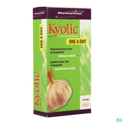 Mannavital Kyolic One A Day Tabl 30