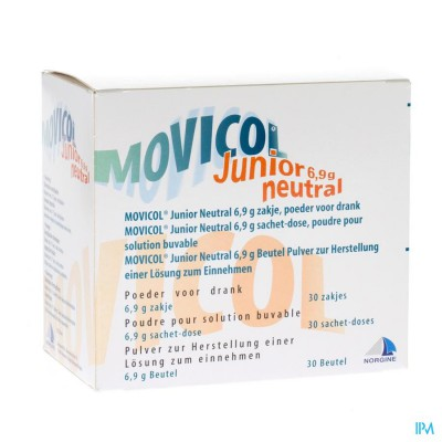 Movicol Junior Neutral Zakjes 30 X 6,9g
