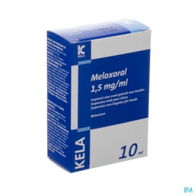 Meloxoral 1,5mg/ml Susp Ora Hond Fl 10ml