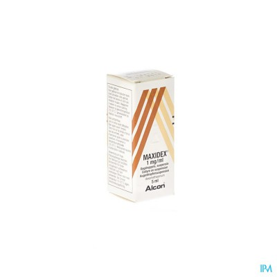 Maxidex Collyre 5ml 0,1%