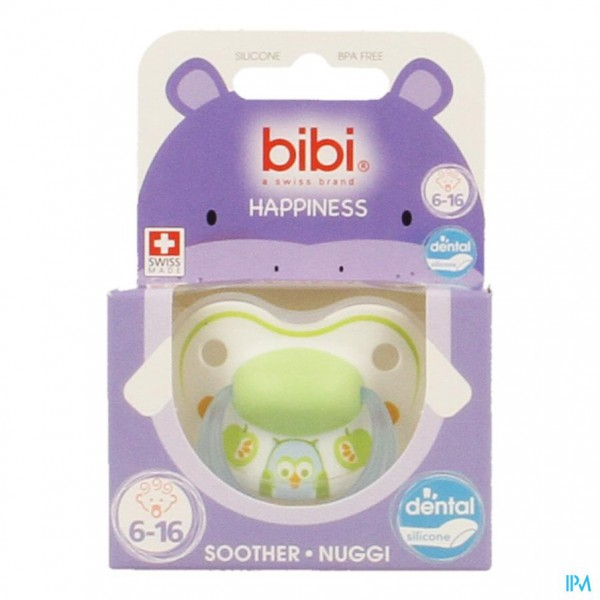 Bibi Fopspeen Dental Play With Us 6-16m